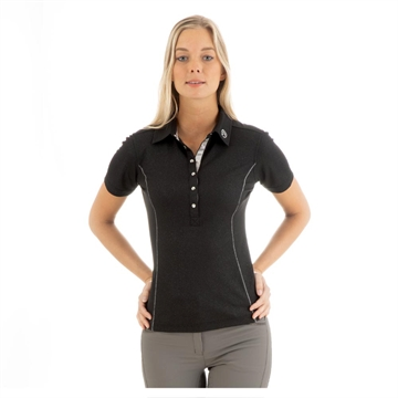 Polo t-shirt, ANKY Essential, Sort