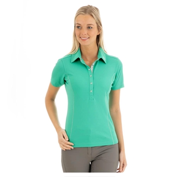 Polo t-shirt, ANKY Essential, Teal green