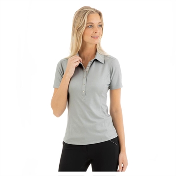 Polo t-shirt, ANKY Essential, Silver