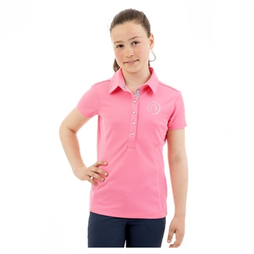 Polo t-shirt, ANKY Essential, Rose